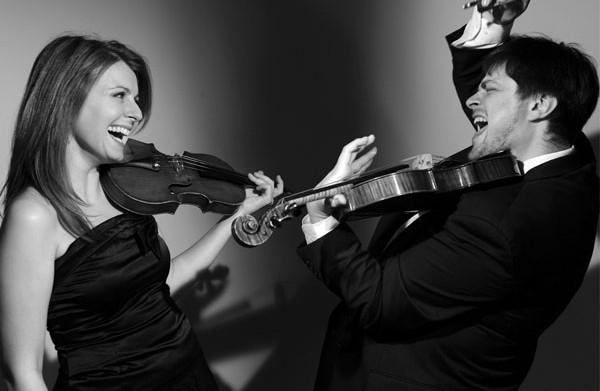 Yuri Zhislin y Natalia Lomeiko, fotografiados por Sasha Gusov
