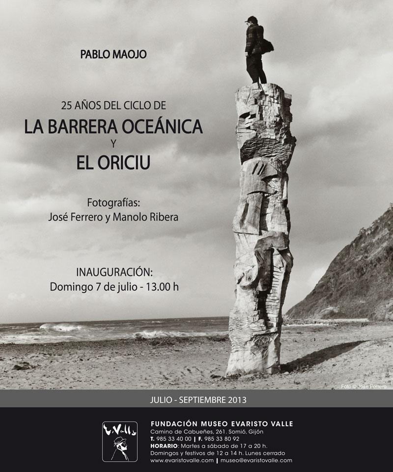 Invitación a la exposición sobre la Barrera Oceánica y el Oriciu pa los aviadores