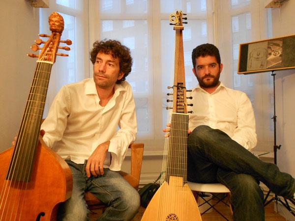 Marc Sunyer e Iván Fernández
