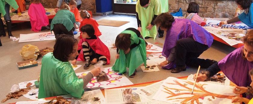 Asturias con niños: Las flores del Pierrot, FamiliariZarte en el Evaristo Valle