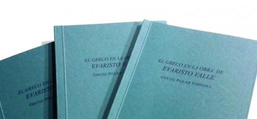"""Conferencia y presentación del libro """"El Greco en la obra de Evaristo Valle"""""""