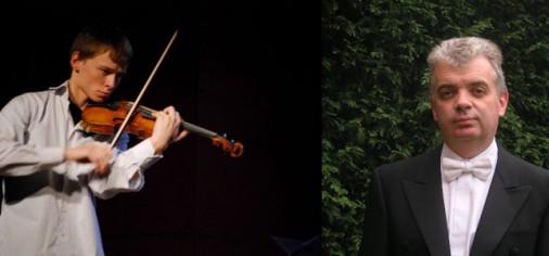 Viernes 24. 20.30 h, recital de violín y piano de Nikita Yashchuk, violín, y Sergei Bezrodny, piano