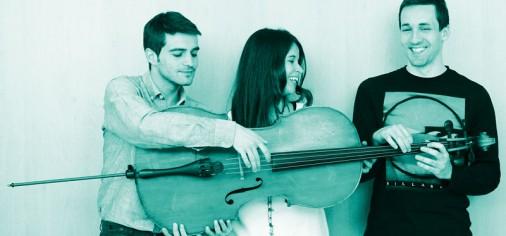 Viernes 12 – junio, Des Concierto trío Zavel: piano, cello y clarinet