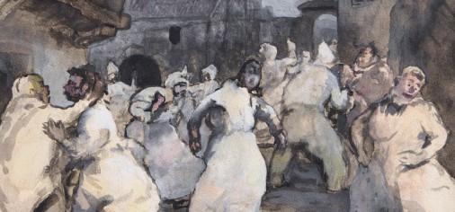 """Domingo 14 jun, 13.00 h // Presentación de la obra de paso: """"Carnavalada"""", c. 1924"""