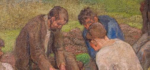 """D. 13 sept – Clausura de la obra de paso: """"Vagabundos"""", Evaristo Valle, c. 1922"""