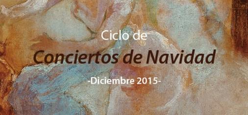 Ciclo de Conciertos de Navidad en el Museo Evaristo Valle, Gijón. Diciembre 2015