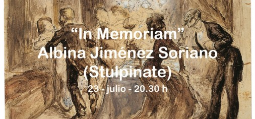 "23 jul – 20.30 h // ""In memoriam"" Albina Jiménez Soriano (Stulpinate), recital de piano"