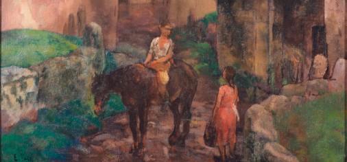 """D. 23 oct – 13.00 h // Presentación de """"Encuentro"""", Evaristo Valle, c. 1930 en La Obra de Paso"""