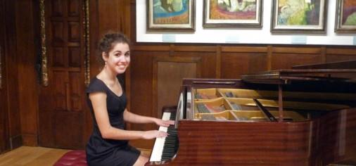 S. 10 dic, 19.30 h // Recital de piano, Fátima García Cabanelas