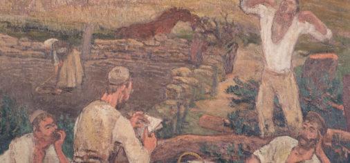 La obra de paso: El descanso, Evaristo Valle, c. 1919