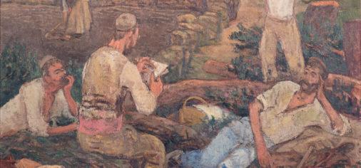 """D. 8 oct – 13.00 h // Presentación de la obra de paso """"El descanso"""", c. 1919"""