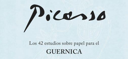 """D. 14 enero, 13.00 h // Inauguración / visita guiada exposición """"Picasso. Los 42 dibujos preparatorios sobre papel para el Guernica. Edición facsimilar íntegra""""."""