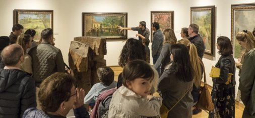 """S. 20 de abril, 18.30 h // Visita guiada """"Descubre… El Museo Evaristo Valle"""""""