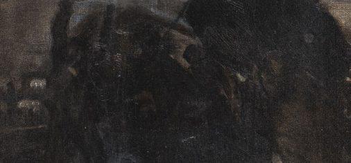 "Evaristo Valle. ""Sin título"", c. 1905, de la serie de ""pinturas negras"""