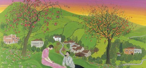 """Filandón expositivo I """"El paisaje en la colección de arte contemporáneo del Museo Evaristo Valle"""""""