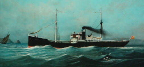 S. 24 julio 2021, 19.30 h // Presentación del libro Historia de la Marina Mercante Asturiana: III. Los años del carbón (1901-1935) de José Ramón García López